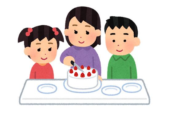 コミュニケーション向上にも!ケーキを等分する力