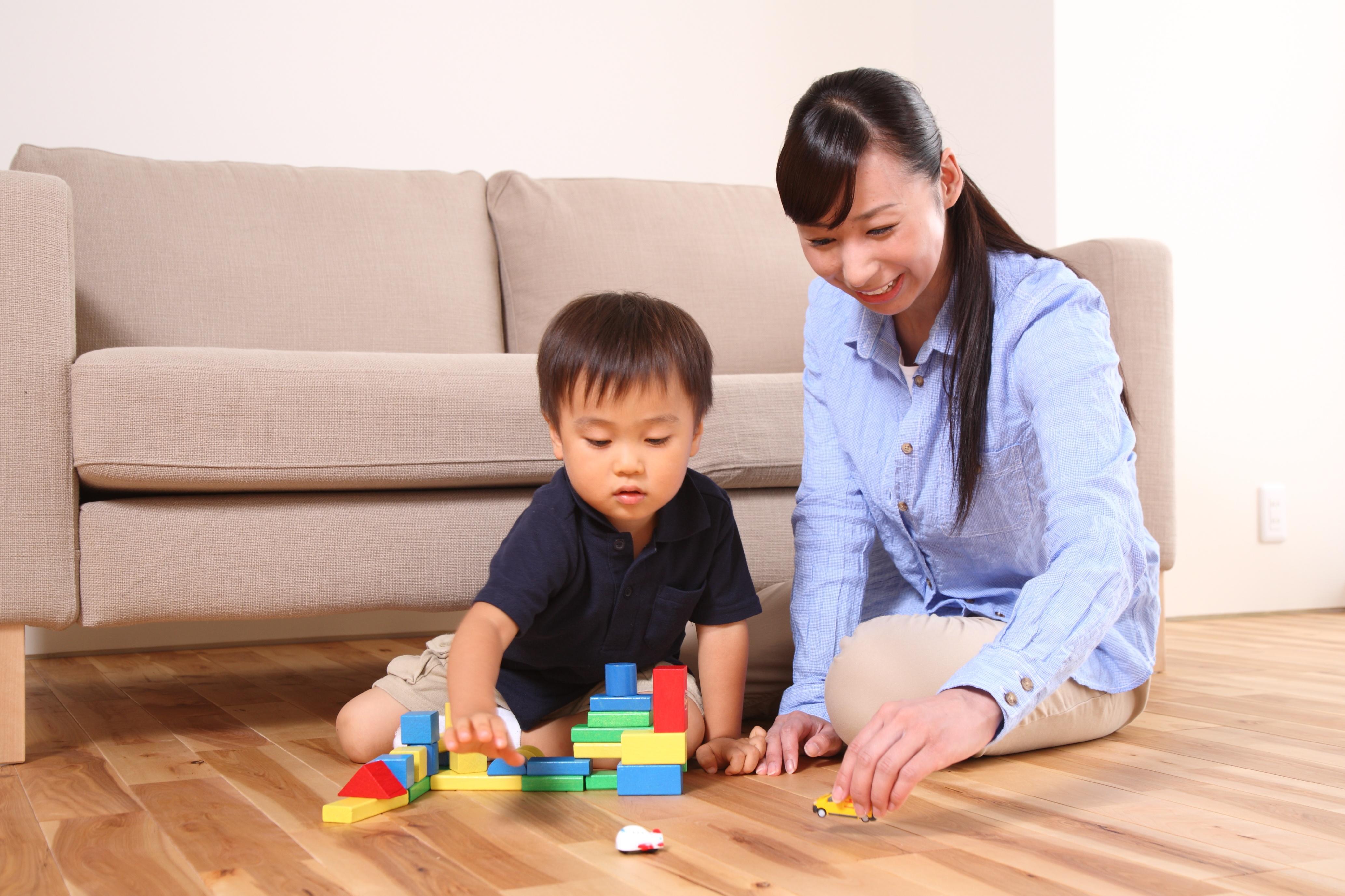 子どもの外出が難しいときの家遊び